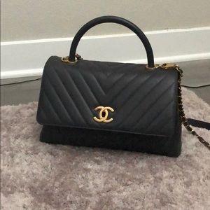 💯 Chanel shoulder bag wt strap